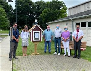 Little Free Library established July 7, 2020